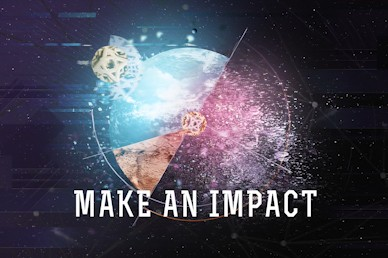 Make An Impact Church Motion Graphic