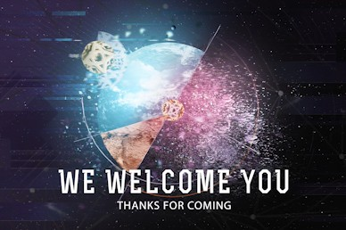 Make An Impact Welcome Motion Graphic