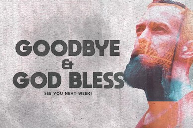 Man To Man Goodbye Motion Graphic