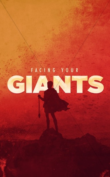 Facing Your Giants Church Sermon Bulletin