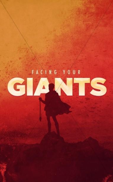 Facing Your Giants Church Sermon Bulletin