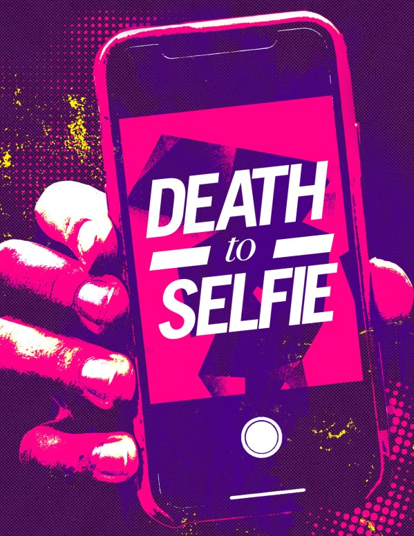 Death to Selfie Church Sermon Flyer