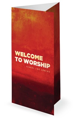 Facing Your Giants Church Sermon Trifold