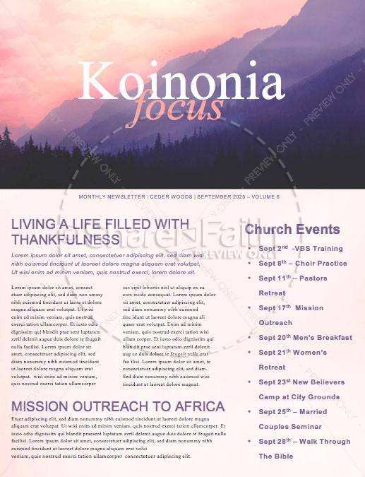 Who Needs God Church Sermon Newsletter