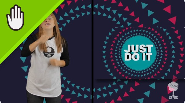Do What It Says Kids Worship Video for Kids Hand Motions Split Screen