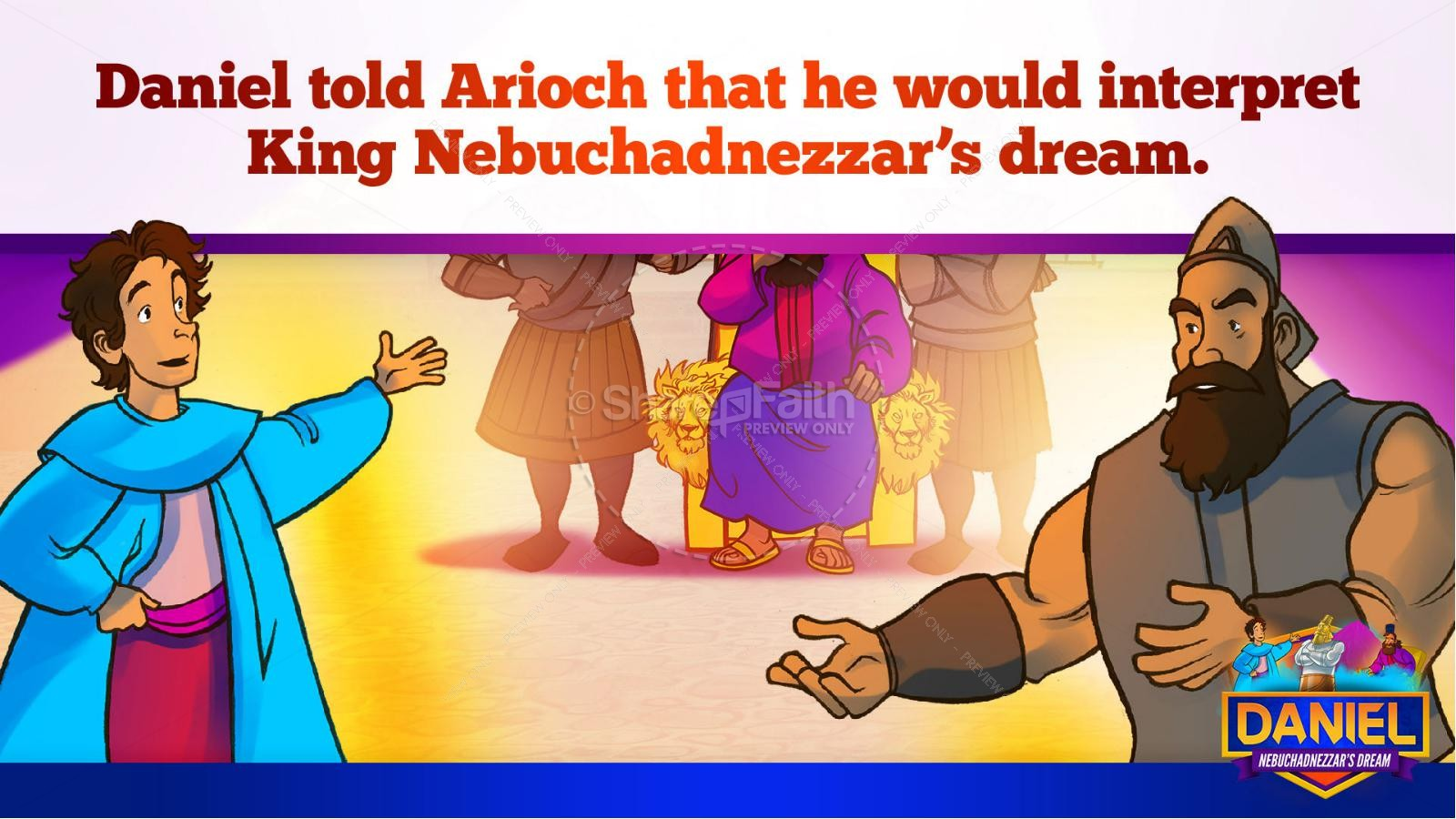 The Daniel 2 Nebuchadnezzar's Bible Story
