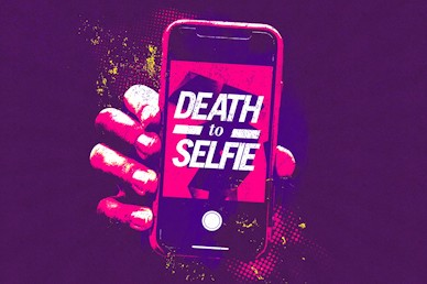 Death To Selfie Church Motion Graphic