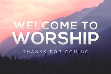 Who Needs God Welcome Motion Graphic
