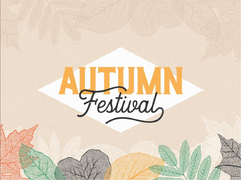 Autumn Festival Church Sermon Powerpoint
