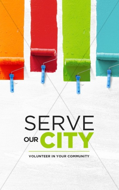 Serve Our City Church Bulletin