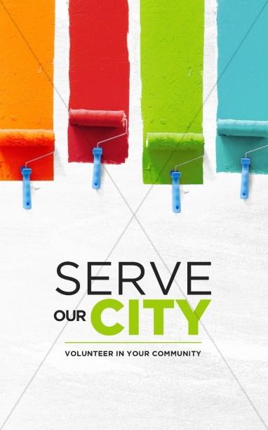 Serve Our City Church Bulletin
