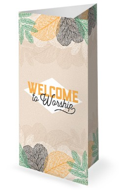 Autumn Festival Church Sermon Trifold