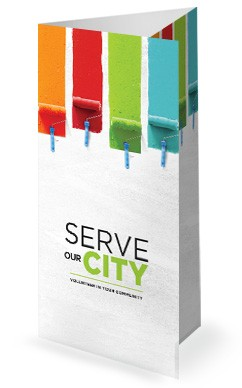 Serve Our City Church Trifold