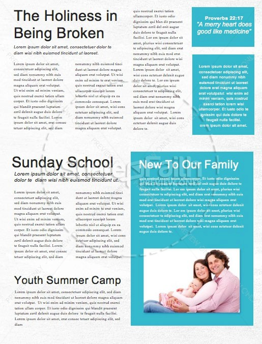 Serve Our City Church Newsletter