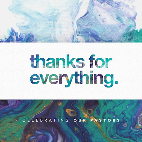 Pastor Appreciation Church Social Media Graphic