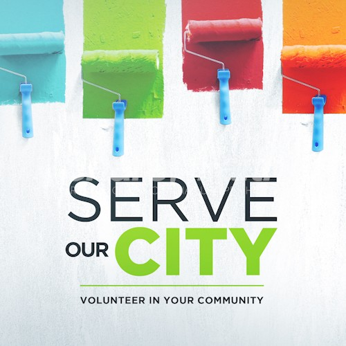 Serve Our City Social Media Graphic