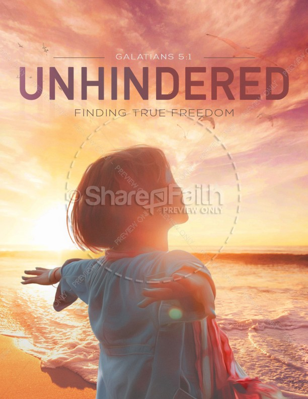 Unhindered Church Media Flyer