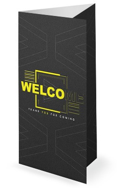 We > Me Church Sermon Trifold