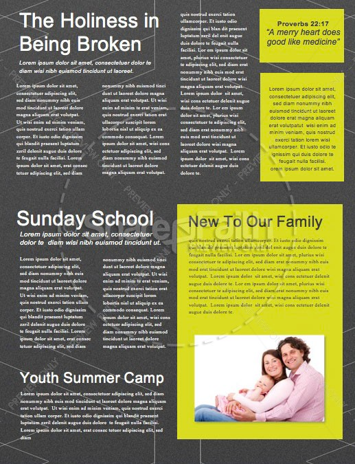 We > Church Sermon Newsletter