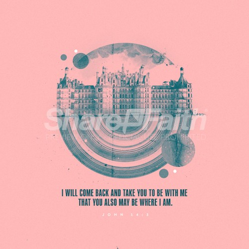 Be Where I Am Bible Verse Kingdom Graphic
