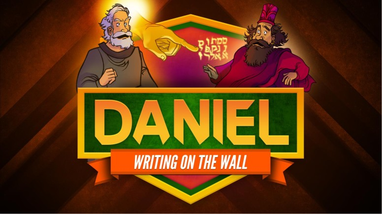 Daniel 5 Writing On The Wall Kids Bible Story