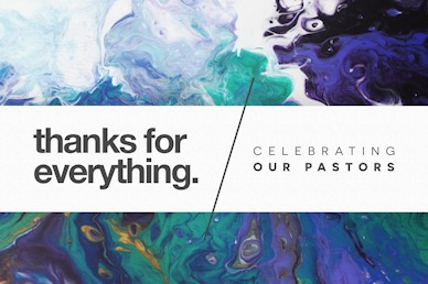 Pastor Appreciation Thanks Sermon Motion Graphic