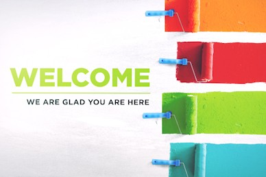 Serve Our City Welcome Sermon Motion Graphic