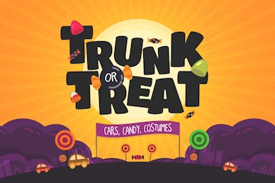 Trunk Or Treat Autumn Motion Graphic