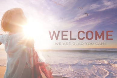 Unhindered Welcome To Church Motion Graphic