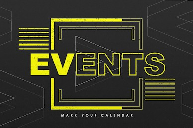 We > Me Events Calendar Motion Graphic