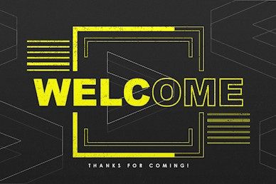 We > Me Welcome Motion Graphic