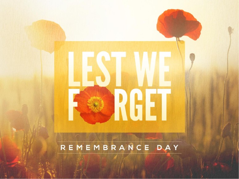 Lest We Forget Poppy Powerpoint