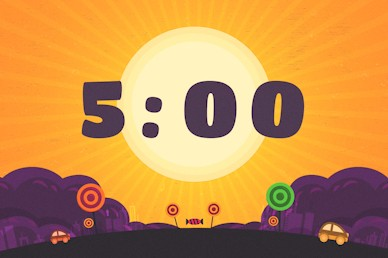 Five Minute Countdown Trunk Or Treat Autumn Motion Graphic