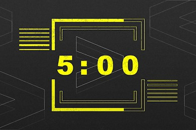 We > Me Countdown Motion Graphic