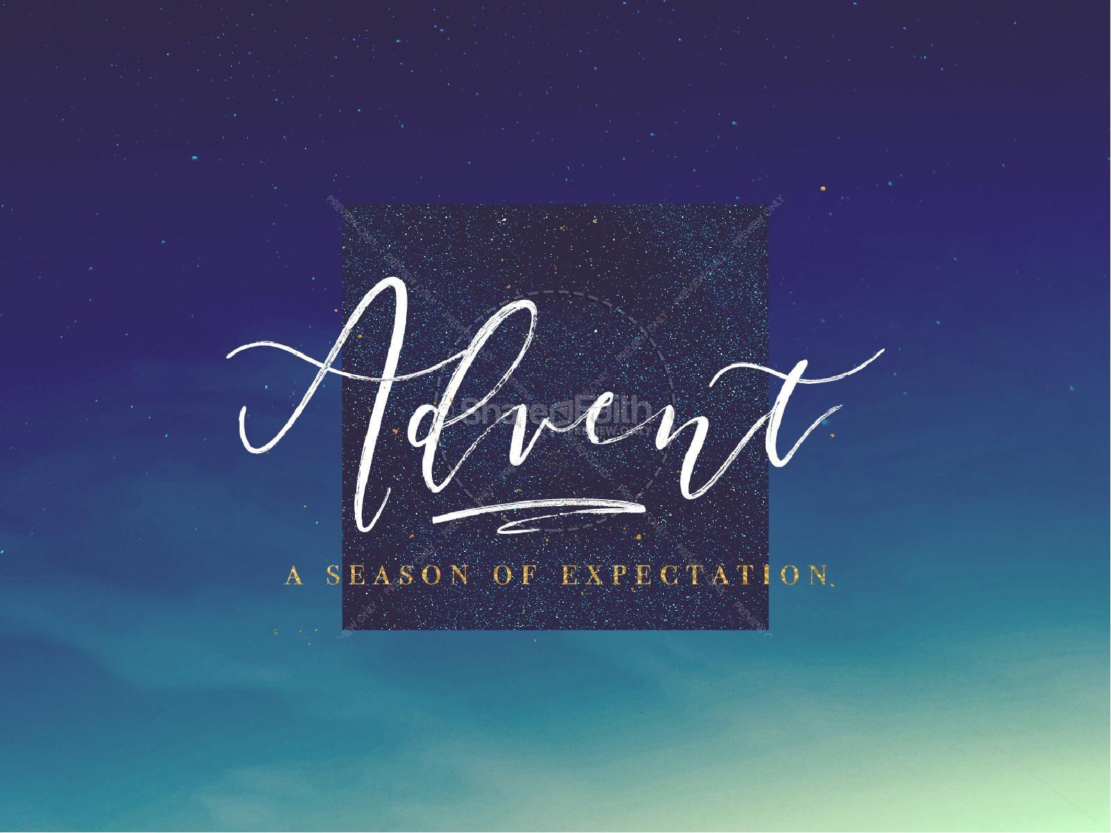 Advent Season Church Service Powerpoint | slide 1