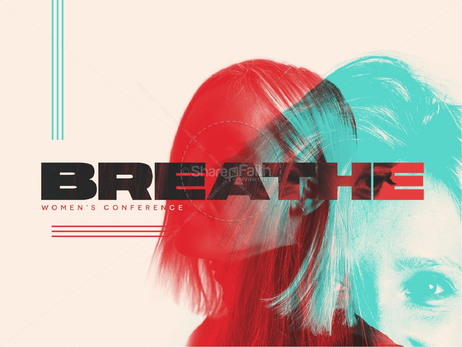 Breathe Women's Conference Church Powerpoint
