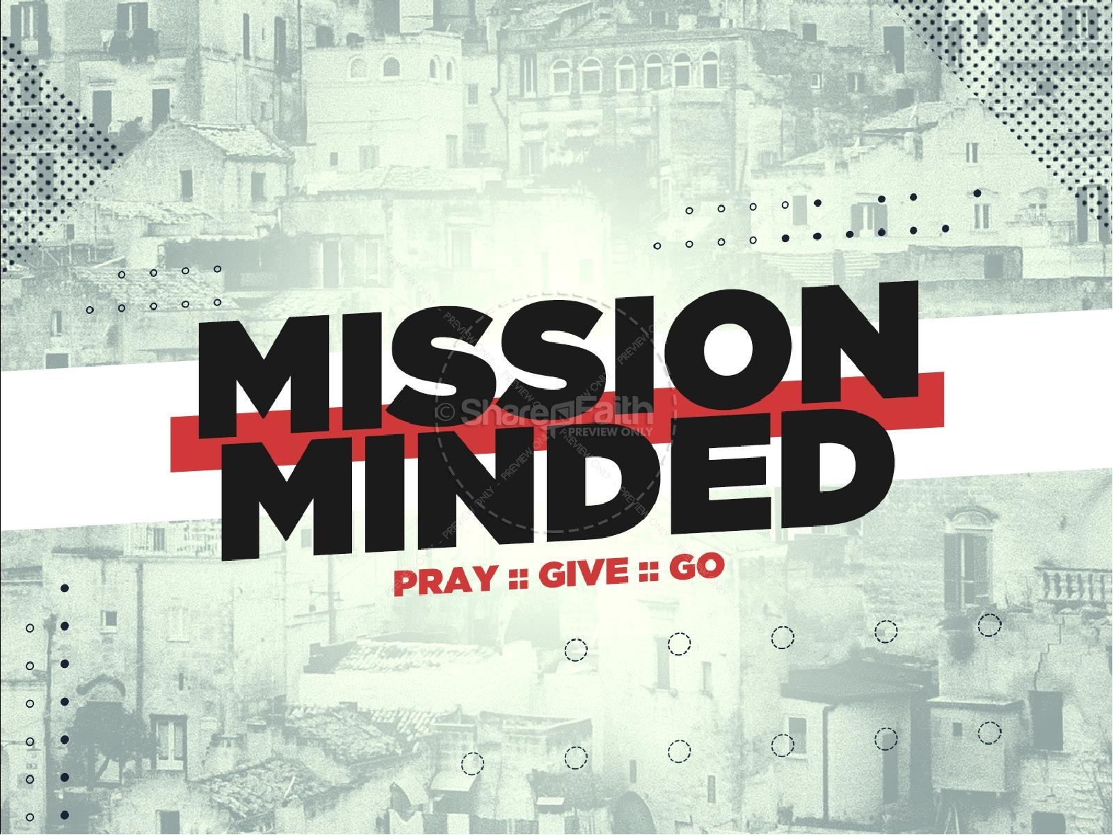 Mission Minded Church Powerpoint