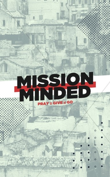 Mission Minded Church Bifold Bulletin