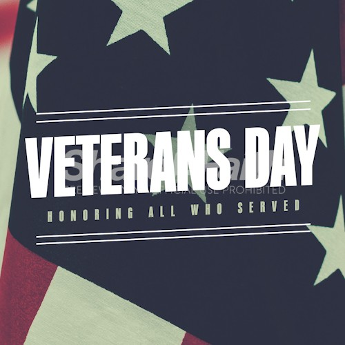 Veterans Day Honor Social Media Graphic