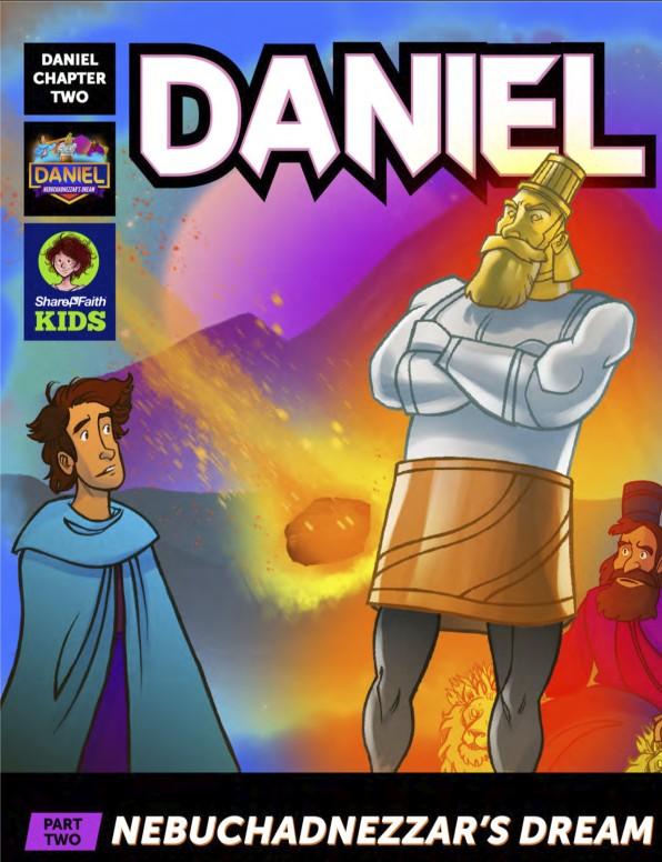 Daniel 2 Nebuchadnezzars Dream Digital Comic