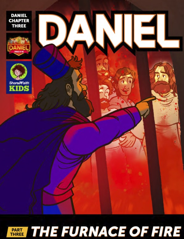 Daniel 3 The Furnace of Fire Digital Comic