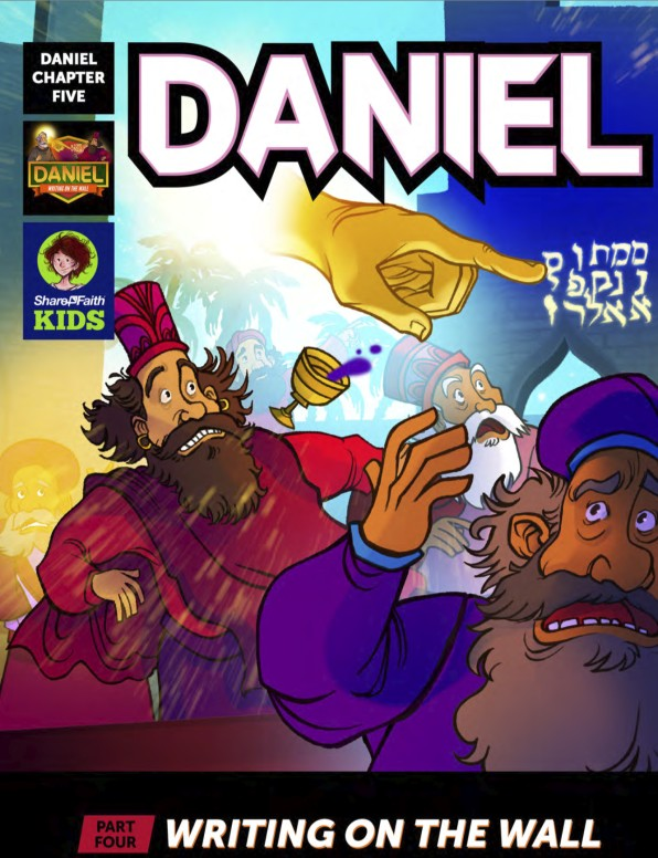 Daniel 5 Writing On The Wall Digital Comic