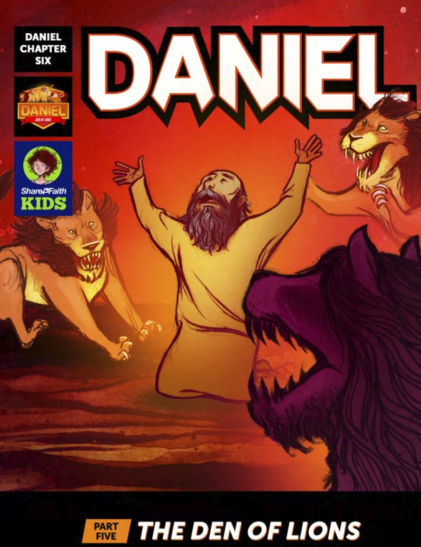 Daniel 6 Den of Lions Digital Comic