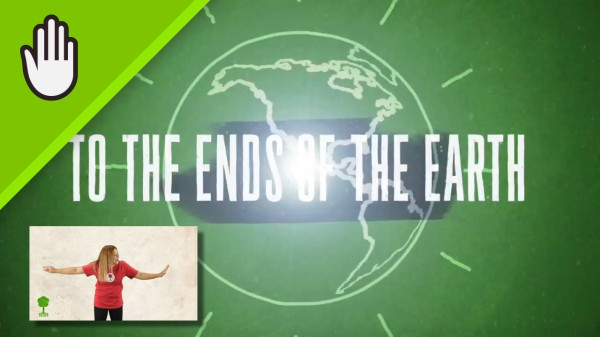 To The Ends Of The Earth Worship Video for Kids Hand Motions
