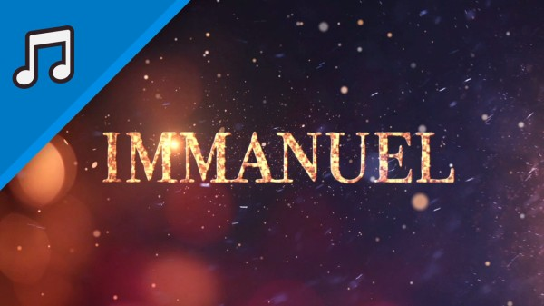 To Call His Name Immanuel Worship Video for Kids Instrumental