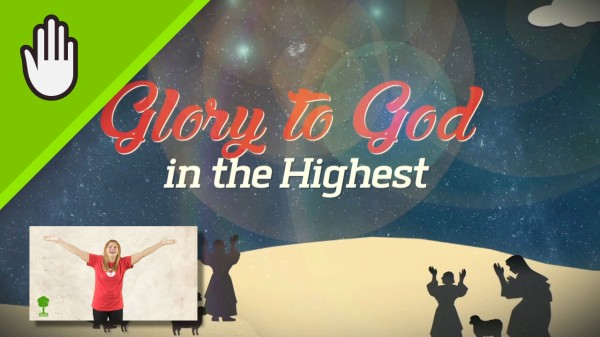 Joy Worship Video for Kids Hand Motions