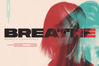 Breathe Women's Conference Church Motion Graphic