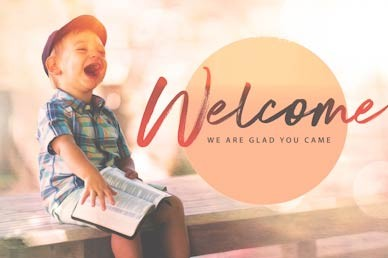 Faith Like A Child Welcome Motion Graphic