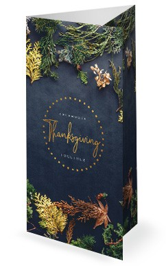 Celebrate Thanksgiving Together Church Trifold Bulletin