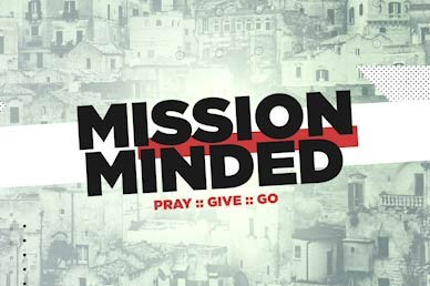 Mission Minded Title Church Motion Graphic